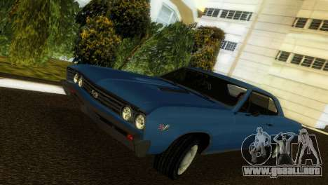 Chevrolet Chevelle SS 1967 para GTA Vice City vista lateral