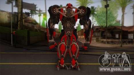 Bumblebee v4 para GTA San Andreas segunda pantalla