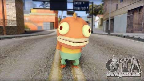Boranfish from Sponge Bob para GTA San Andreas
