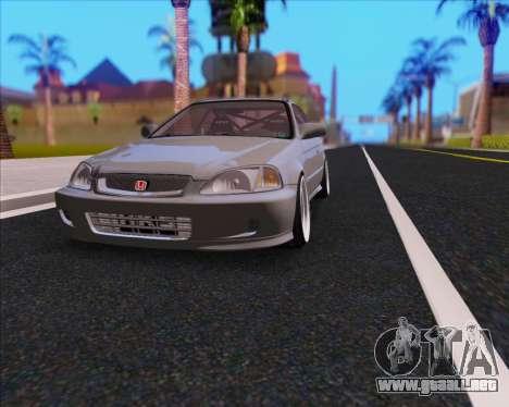Honda Civic EM1 V2 para visión interna GTA San Andreas