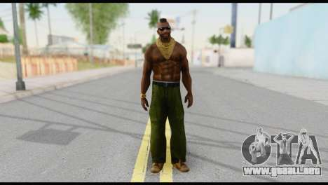 MR T Skin v3 para GTA San Andreas