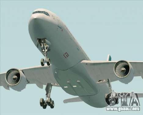 Airbus A330-300 Air Canada para la visión correcta GTA San Andreas