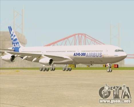 Airbus A340-311 House Colors para GTA San Andreas left