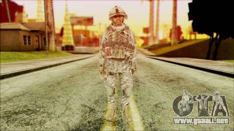 Ranger (CoD: MW2) v5 para GTA San Andreas