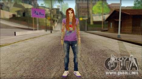 Valentine Girl para GTA San Andreas