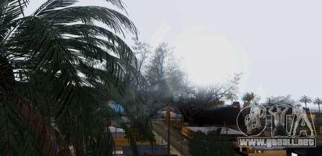 Graphical Shell para GTA San Andreas octavo de pantalla