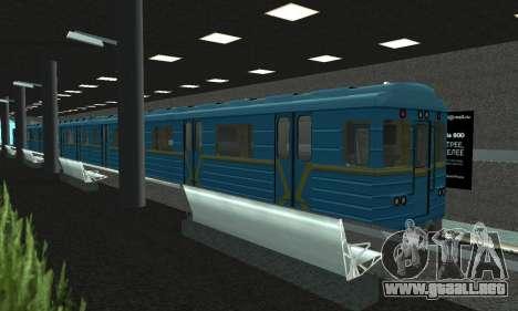Una nueva estación de metro en San Fierro para GTA San Andreas segunda pantalla
