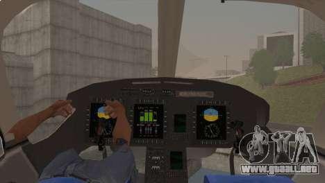 Bell 429 v1 para la visión correcta GTA San Andreas