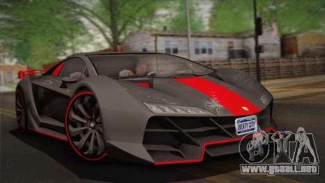 GTA 5 Zentorno (IVF) para GTA San Andreas