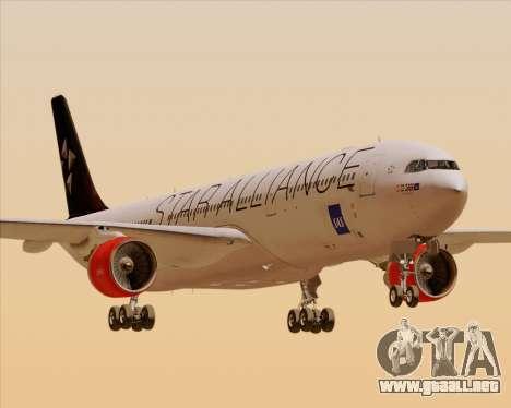 Airbus A330-300 SAS (Star Alliance Livery) para GTA San Andreas