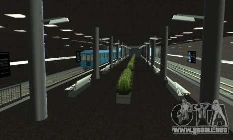 Una nueva estación de metro en San Fierro para GTA San Andreas