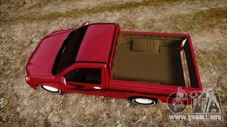 Toyota Hilux 2014 para GTA 4 visión correcta