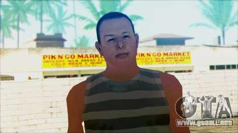 New Wmyjg para GTA San Andreas tercera pantalla