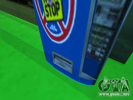 La máquina con la bebida Sin Dejar de Stalker para GTA San Andreas tercera pantalla