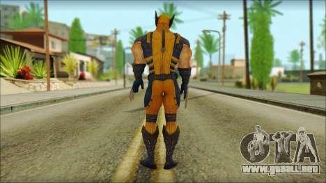 Wolverine Deadpool The Game Cable para GTA San Andreas segunda pantalla