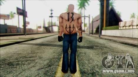 Manhunt Ped 5 para GTA San Andreas segunda pantalla