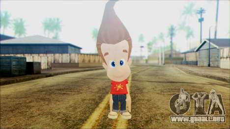 Jimmy Neutron para GTA San Andreas