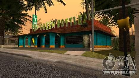 Nuevo bar en Ganton para GTA San Andreas segunda pantalla