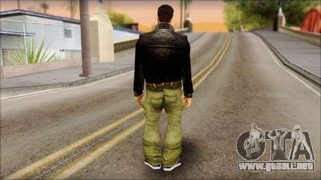 Shades Claude v2 para GTA San Andreas segunda pantalla