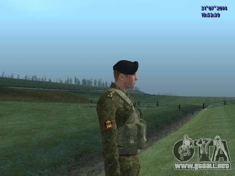 El Oficial De La Infantería De Marina para GTA San Andreas sucesivamente de pantalla