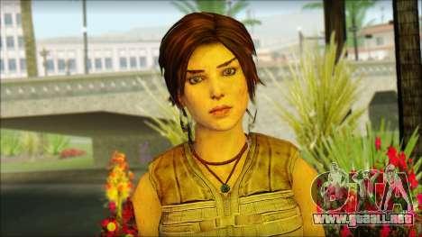Tomb Raider Skin 15 2013 para GTA San Andreas tercera pantalla
