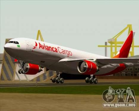 Airbus A330-243F Avianca Cargo para GTA San Andreas