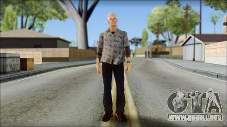 Doc from Back to the Future 1955 para GTA San Andreas