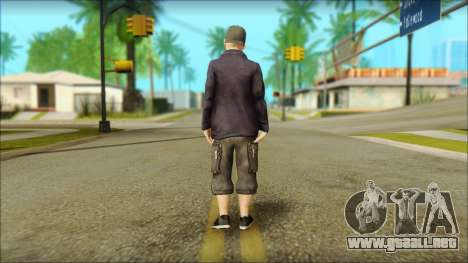 Fred Durst from Limp Bizkit v1 para GTA San Andreas segunda pantalla