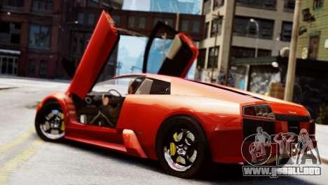 Lamborghini Murcielago 2005 para GTA 4 left