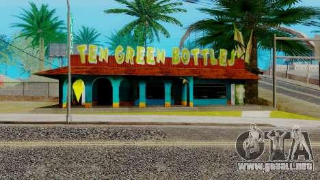 Nuevo bar en Ganton para GTA San Andreas sexta pantalla