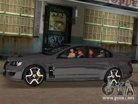 Holden HSV GTS 2011 para el motor de GTA Vice City