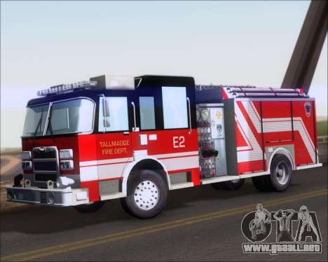 Pierce Arrow XT TFD Engine 2 para GTA San Andreas left