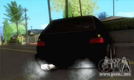 Volkswagen Golf Mk2 Storm para la visión correcta GTA San Andreas