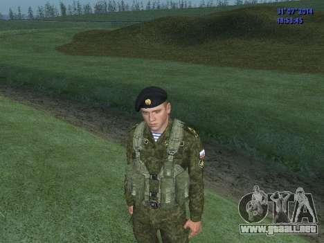 El Oficial De La Infantería De Marina para GTA San Andreas segunda pantalla