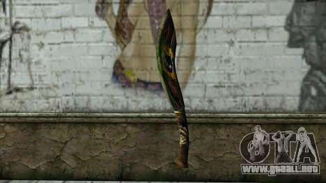 Fang Blade from PointBlank v2 para GTA San Andreas