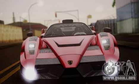 Ferrari Gemballa MIG-U1 para la vista superior GTA San Andreas