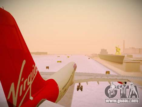 Airbus A340-300 Virgin Atlantic para GTA San Andreas