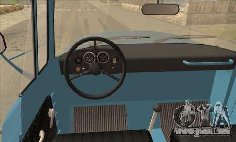 DAC 6135 R para GTA San Andreas vista posterior izquierda
