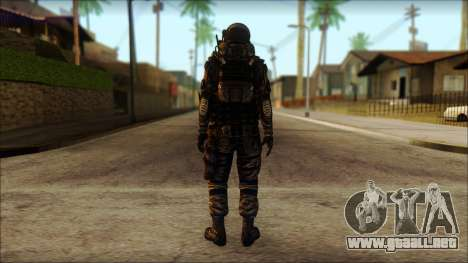 Наемник (Tom Clancy Splinter Cell: Blacklist) para GTA San Andreas segunda pantalla