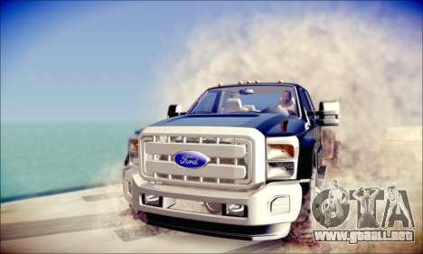 Ford F450 Super Duty 2013 HD para GTA San Andreas