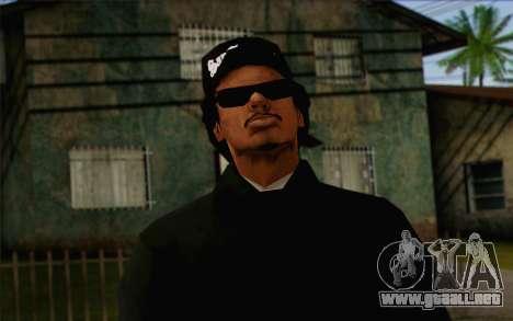 N.W.A Skin 3 para GTA San Andreas tercera pantalla