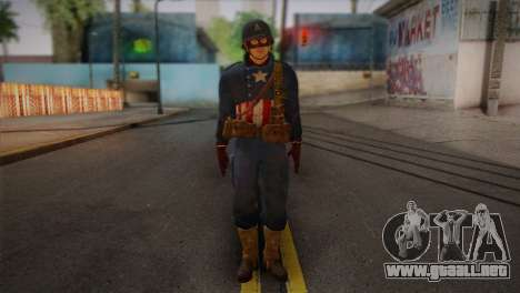 Captain America v2 para GTA San Andreas