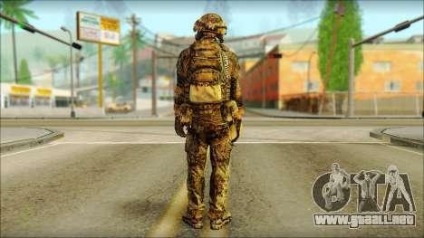 Combatiente de la OGA (MoHW) v3 para GTA San Andreas segunda pantalla