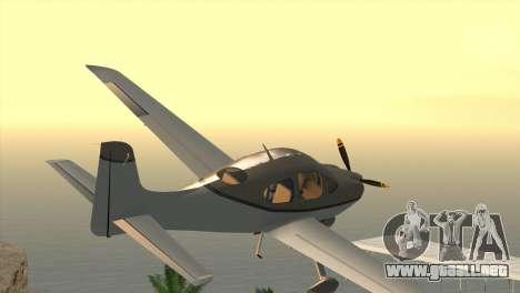 Cirrus SR-22 para GTA San Andreas left