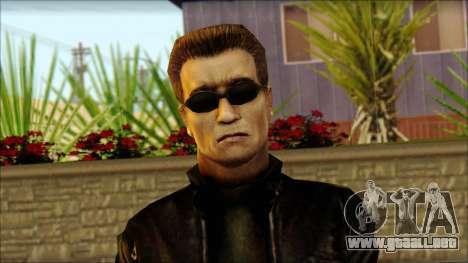 Arnold Shvarzneger para GTA San Andreas tercera pantalla