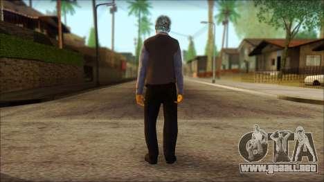 GTA 5 Ped 16 para GTA San Andreas segunda pantalla