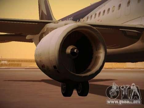 Airbus A320-214 LAN Airlines 100th Plane para las ruedas de GTA San Andreas