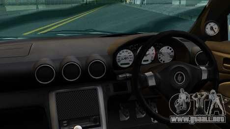 Nissan Silva S15 Turkish Drift para GTA San Andreas vista posterior izquierda