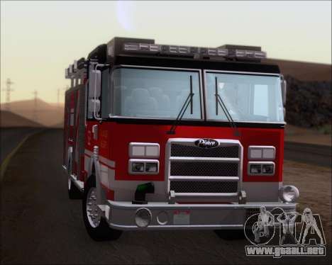 Pierce Arrow XT TFD Engine 2 para GTA San Andreas vista hacia atrás