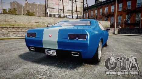 GTA V Bravado Gauntlet para GTA 4 Vista posterior izquierda